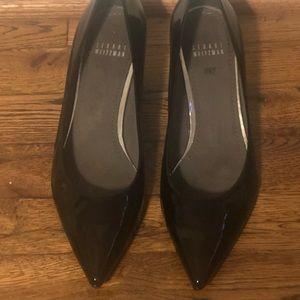 Stuart Weitzman low patent leather heels